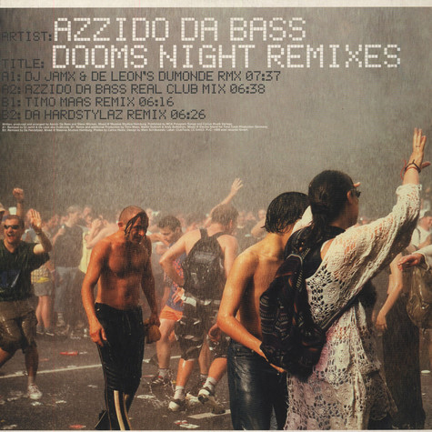 Azzido Da Bass - Dooms night Remixes