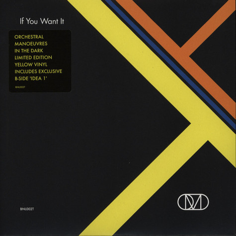 OMD (Orchestral Manoeuvres In The Dark) - If You Want It