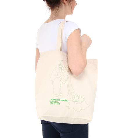 Ubiquity - Musical Roots Tote Bag
