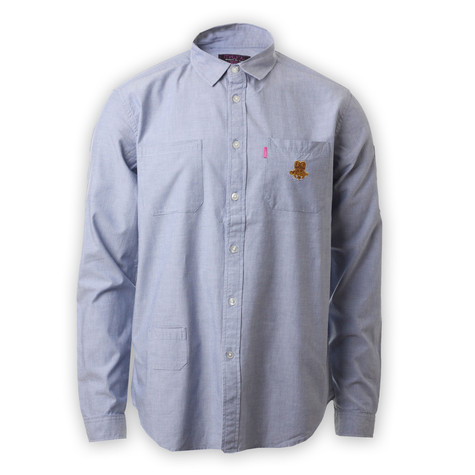 Mishka - Solomon Crest Chambray Button-Down Shirt
