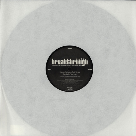 Breakthrough - Maybe It's You