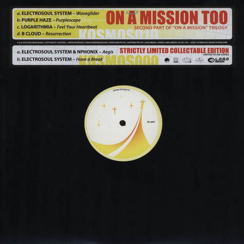 V.A. - On A Mission Too
