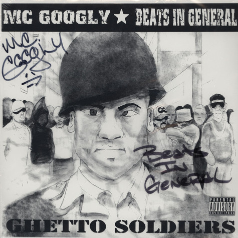 Mc Goolgy  / Poison Ladd S.L.R. - Ghetto Soldiers / Black Pussy
