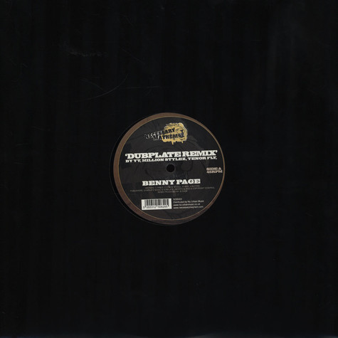 YT, Million Stylez & Tenor Fly - Dubplate Original & Benny Page Remix