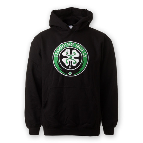 Flogging Molly - Distressed Classic Shamrock Hoodie