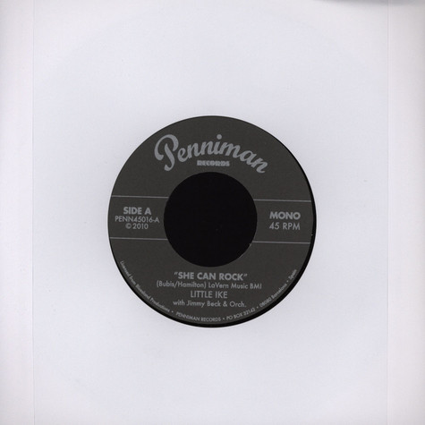 Little Ike / Earl Gaines - She Can Rock / Now Do You Hear?
