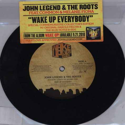 John Legend & The Roots - Wake Up Everybody Feat. Common & Melanie Fiona