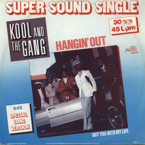 Kool & The Gang - Hangin out