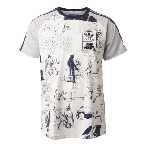 adidas x Star Wars - Star Wars Sketches T-Shirt