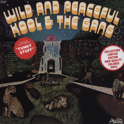 Kool & The Gang - Wild And Peaceful