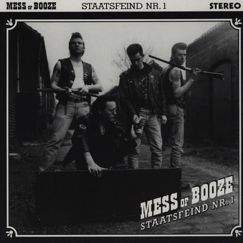 Mess Of Booze - Staatsfeind No. 1