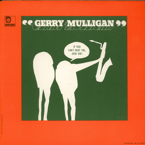 Gerry Mulligan - If You Can't Beat 'Em, Join 'Em!