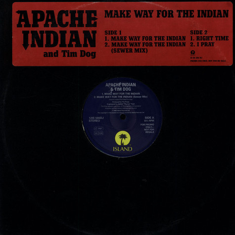 Apache Indian feat. Tim Dog - Make way for the indian
