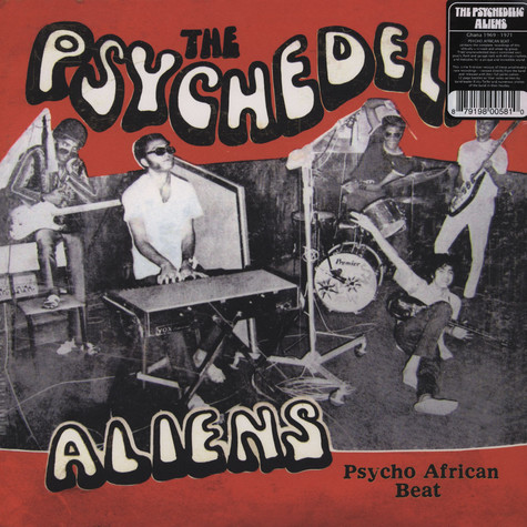 Psychedelic Aliens, The - Psycho African Beat
