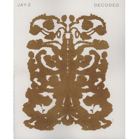 Jay-Z - Decoded - Paperback Edition