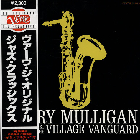 Gerry Mulligan And The Concert Jazz Band - At the Village Vanguard