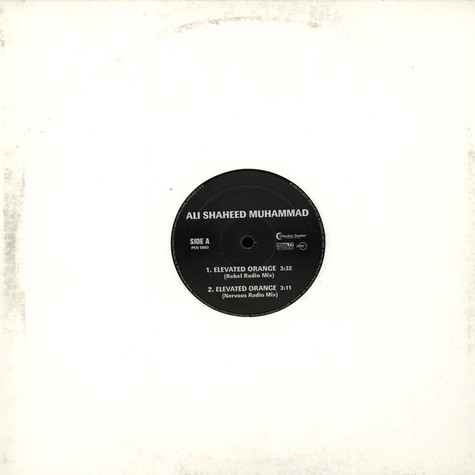 Ali Shaheed Muhammad - Elevated orange
