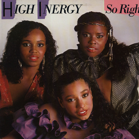 High Energy - So Right
