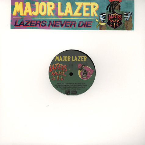Major Lazer - Lazers Never D.I.E. EP