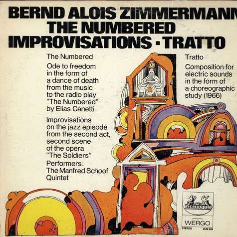 Bernd Alois Zimmermann - The Numbered / Improvisations / Tratto