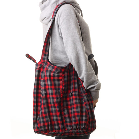 Cleptomanicx - Cate Plaid Reversible Bag