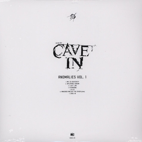 Cave In - Anomalies Volume 1