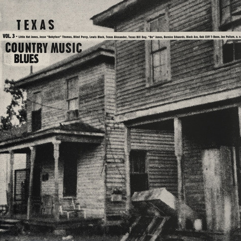 V.A. - Texas Country Blues Music Volume 3