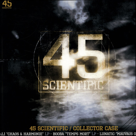Ali / Booba / Lunatic - 45 Scientific White T-Shirt Edition Box Set