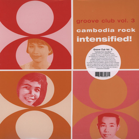 Groove Club - Volume 3 - Cambodia Rock Intensified!