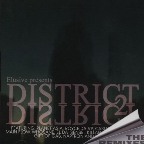 Elusive - Disctrict 2 District - The Remixes