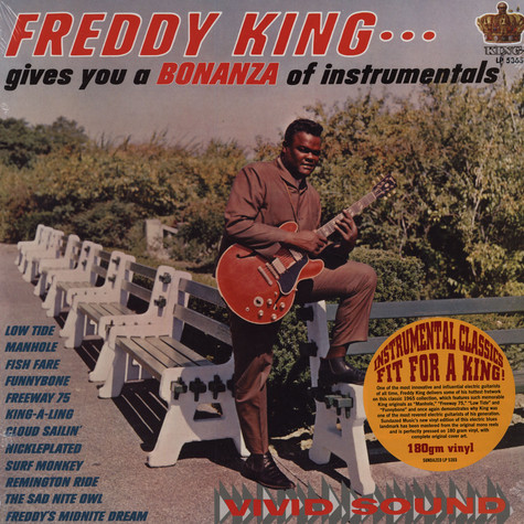 Freddy King - Bonanza Of Instrumentals
