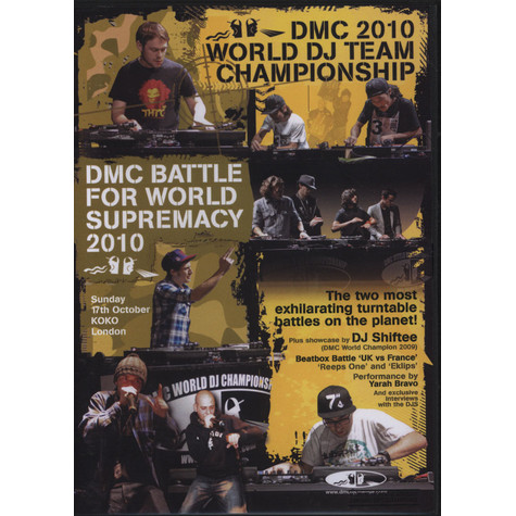 DMC World Team Championships & Battle For Supremacy - Final 2010