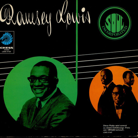 Ramsey Lewis Trio, The - Soul Incorporated