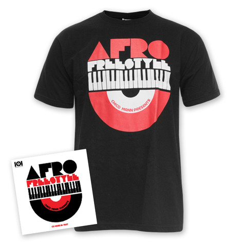 101 Apparel x Chico Mann - Afro Freestyle T-Shirt + CD