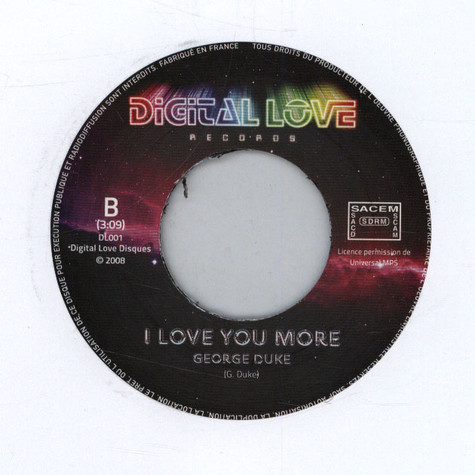 Eddie Johns / George Duke - More Spell On You / Love You More