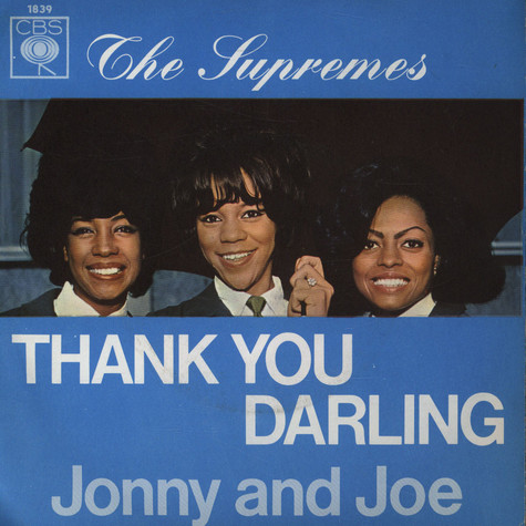 Supremes, The - Thank You Darling