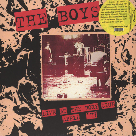 Boys, The - Live At The Roxy Club April 77