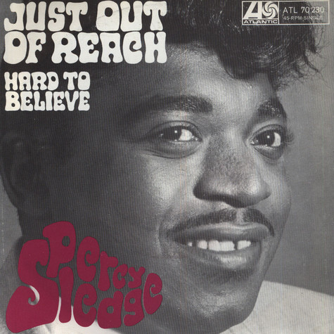 Percy Sledge - Just Out Of Reach