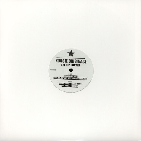 Andy Ash / Cosmic Boogie / Neil Diablo - The Hip Joint EP