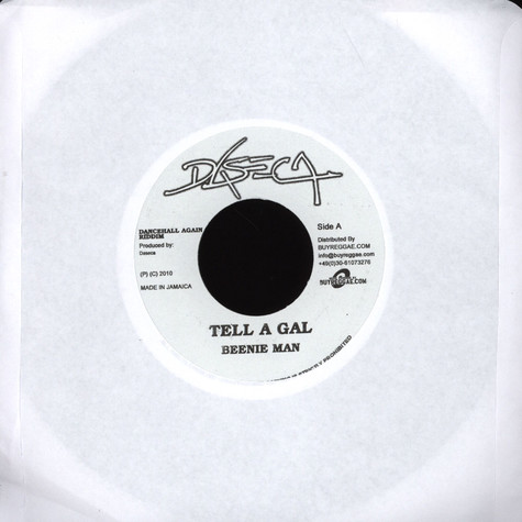Beenie Man / Dexta Daps - Tell A Gal / Ride All Night