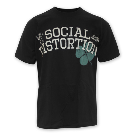 Social Distortion - Four Leaf Cover T-Shirt