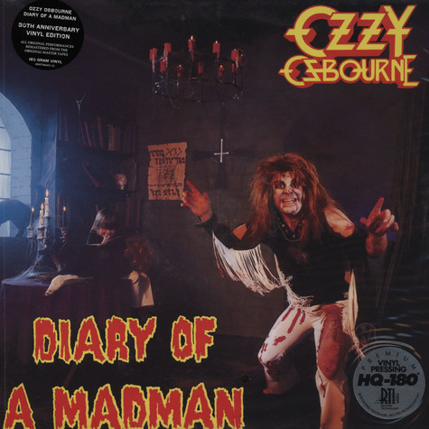 Ozzy Osbourne - Diary Of A Madman 30th Anniversary Edition