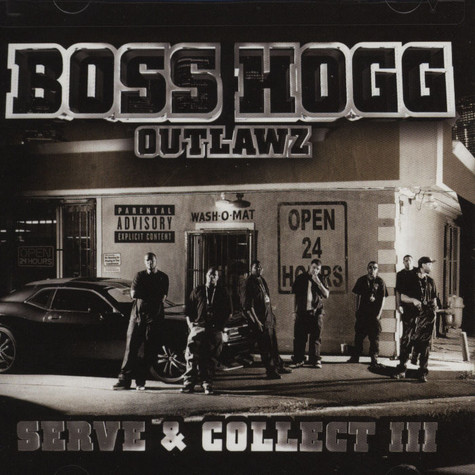 Slim Thug / Boss Hogg Outlawz - Serve & Collect 3 - Immahogg