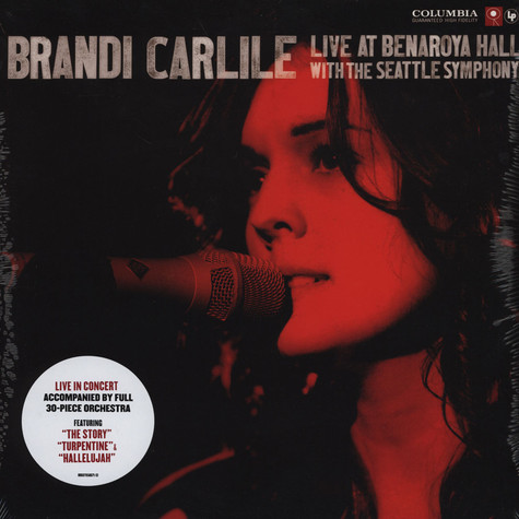 Brandi Carlile - Live At Benaroya Hall With The Seattle Symphony