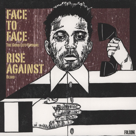 Rise Against / Face To Face - Split 7""