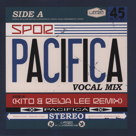 Spor - Pacifica Vocal Mixes