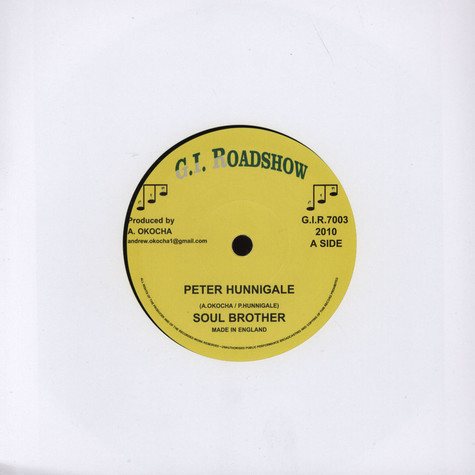 Peter Hunnigale - Soul Brother