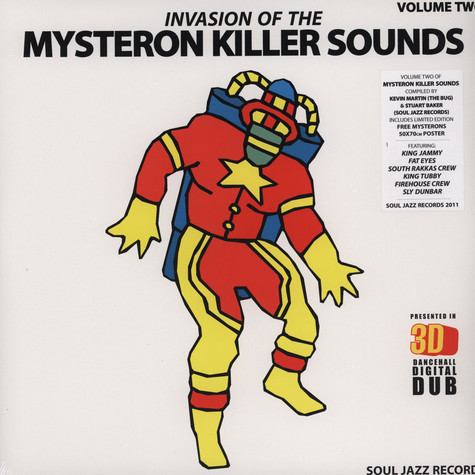 Kevin Martin (The Bug) & Stuart Baker (Soul Jazz Records) - Invasion of the Killer Mysteron Sounds in 3-D LP 2