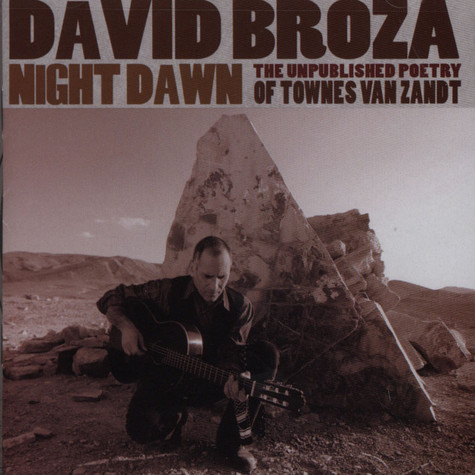 David Broza - The Unpublished Poetry Of Townes Van Zandt