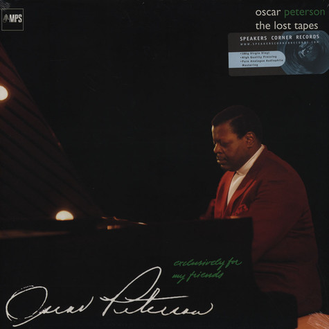 Oscar Peterson - Exclusively for my Friends – The Lost Tapes